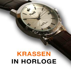 Krassen verwijderen uit je horloge? Alle herstelliingen aan horloges: Kiekt.be