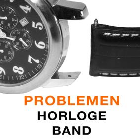 Horlogeband komt los, problemen met horlogeband: KIEKT.BE