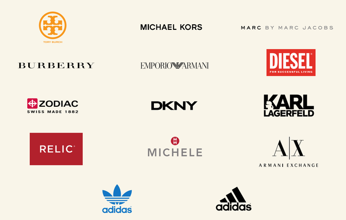 Glas voor horloge Fossil, Armani, DKNY, Michael Kors, Adidas, Diesel, ...