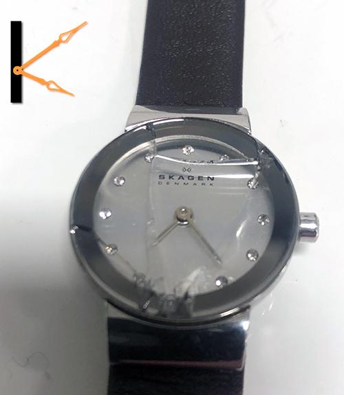 Skagen horlogeglas gebroken? Wij vervangen deze met originele Skagen onderdelen.