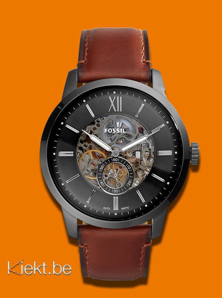 Glas van je Fossil uurwerk of horloge gebroken? Kiekt vervangt het glas van alle Fossil horloges.
